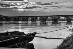 Pont sur la Loire. Gien
